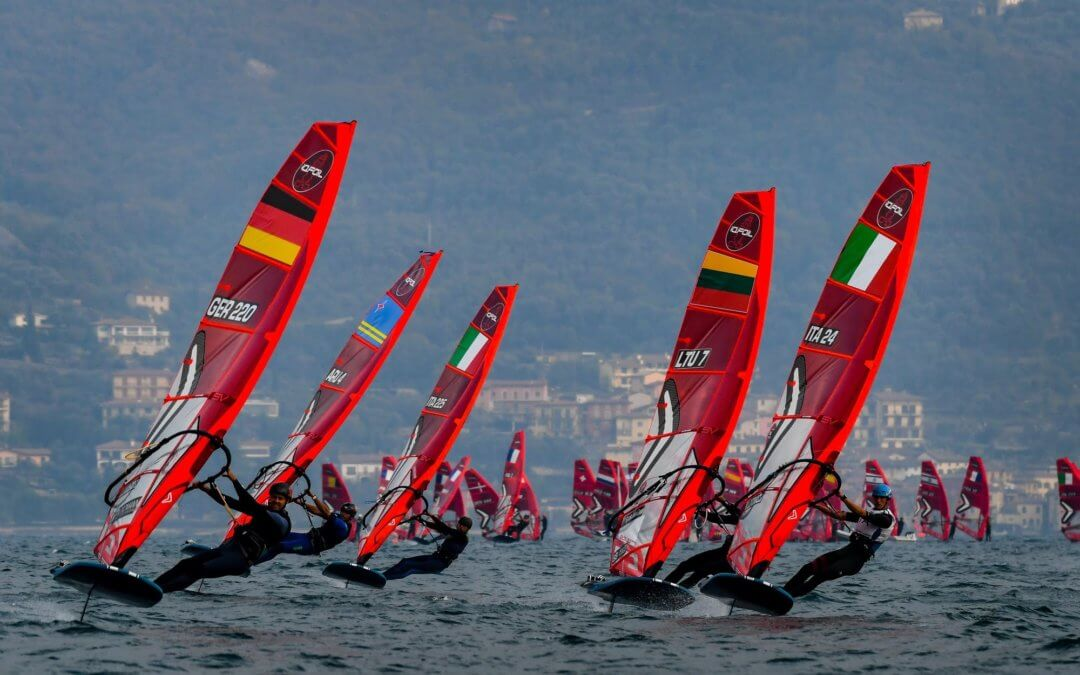 SEBASTIAN KOERDEL (GER) AND NOY DRIHAN (ISR) ARE THE WINNERS OF THE IQFOIL INTERNATIONAL GAMES ON LAKE GARDA